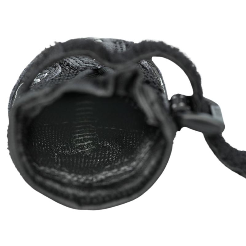 Hangmat de luxe langh.zilver/bruin