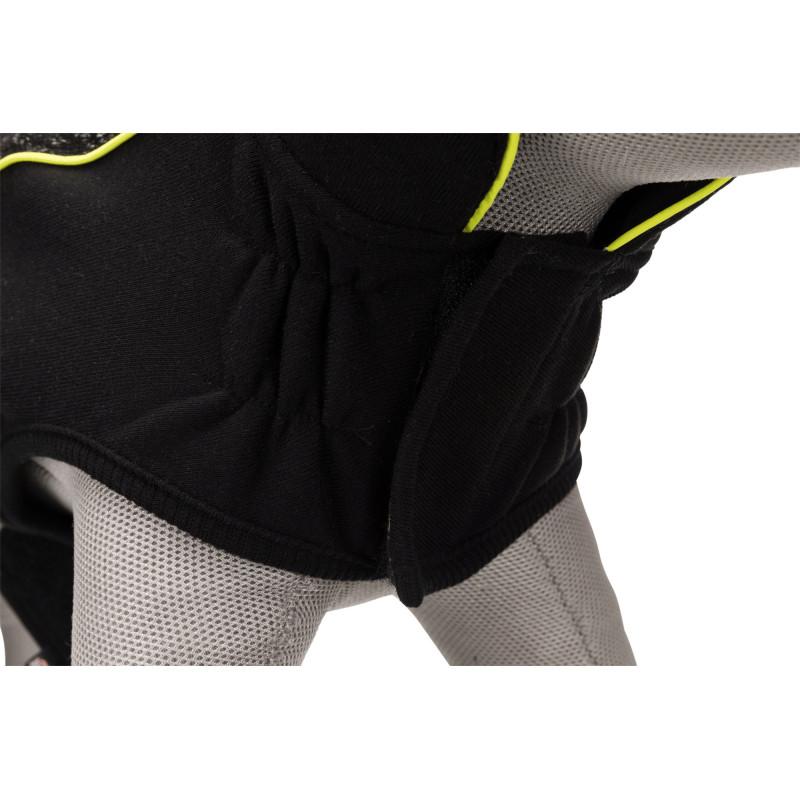 Afdeknet voor draadren klein zwart
